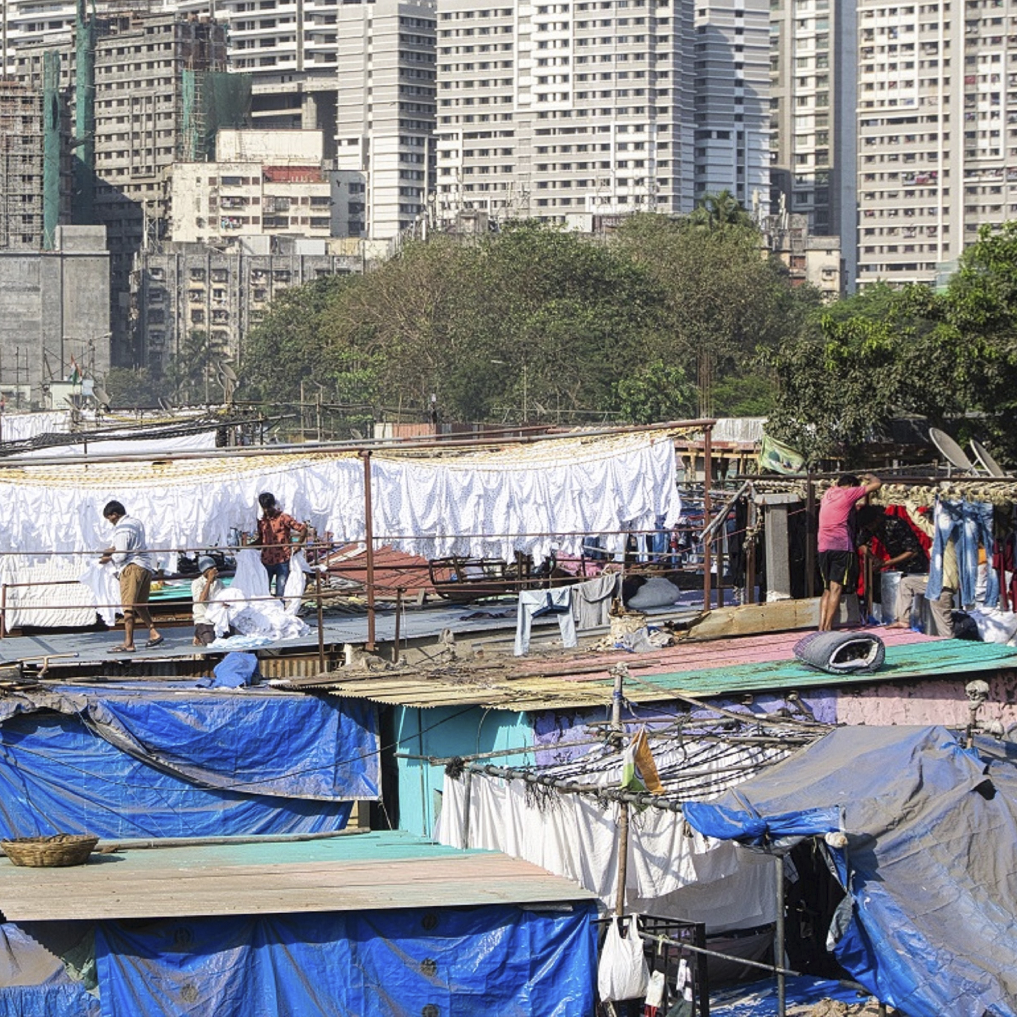 Are slums more vulnerable to the COVID-19 pandemic: Evidence from Mumbai
