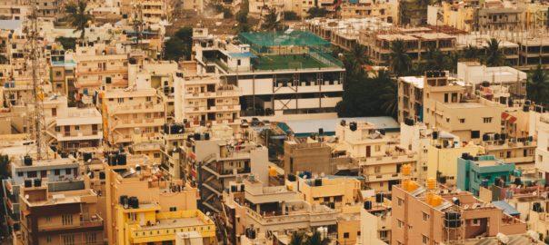Urban landscape in India