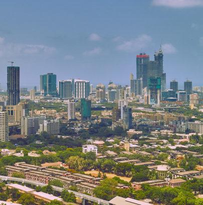 skyline of Mumbai